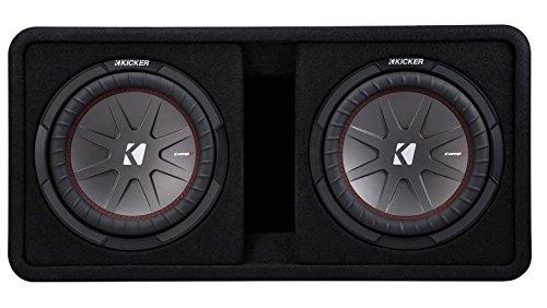 Kicker 43DCWR122 12'' 2000W Car Subwoofers Subs + Box+4000 Watt Mono Amp + Wiring by Kicker (Image #2)