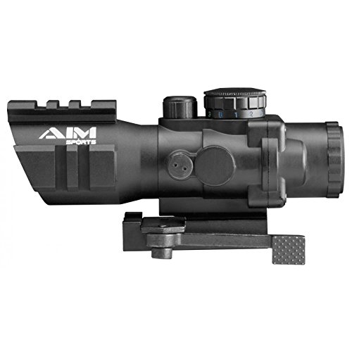 4x32 Tri-ill. Scope W/tri-rail/qrm/arrow (Jtctq432g-sc) (Rail Tactical Scope Tri)