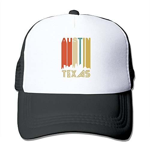 HAT-HAT Austin Texas Unisex Adjustable Snapback Hats Trucker