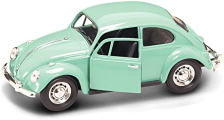 light green Model Car Lucky The Cast 1:24 Ready-made VW beetle 1967