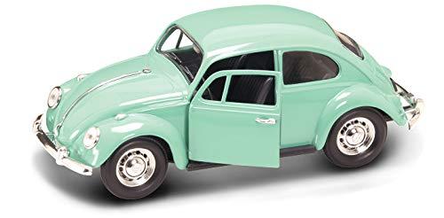 VW beetle, light green, 1967, Model Car, Ready-made, Lucky The Cast 1:24