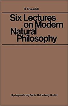 Book Six Lectures on Modern Natural Philosophy