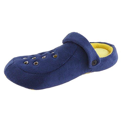 Sams Animal Funny Funny Warm Novelty Slippers Slippers Clogs Blue/Blue RoJkvWc