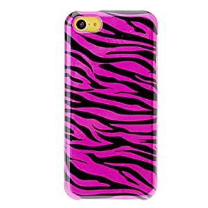 Buy Black Zebra Pattern Polished PC Detachable Back Case with Bumper Frame for iPhone 5C (Assorted Colors) , Rose