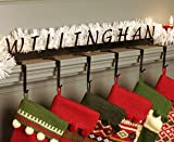 Personalized Christmas Stocking Holder