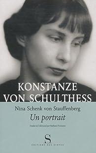 Nina Schenk Von Stauffenberg, un portrait par Konstanze von Schulthess