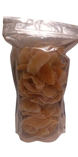 Wright Snax Delicious Dried Mangoes Sweetened, Unsulphured, No food coloring, Non GMO, Kosher, 26 oz. resealable pouch