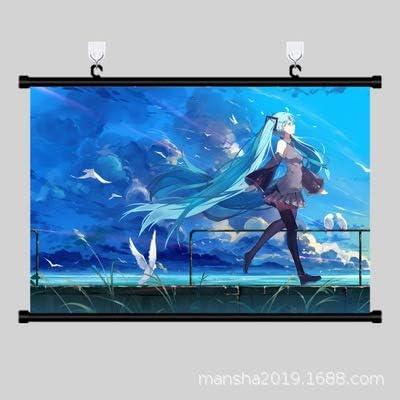 DENGLEI Pintura Colgante Primer Sonido Futuro Virtual Ji-ji Segunda-Sub-Sub-Reel Pintura 40X60CM #-: Amazon.es: Hogar