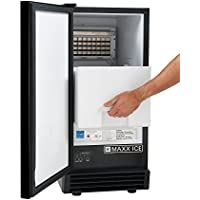 Maxx-Ice MIM50V Undercounter Outdoor Ice Maker Cuber Machine MIM50 …