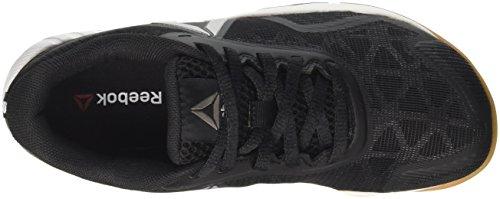 Negro Zapatillas Workout Rbk Rubber White Deporte para Gum Pure Black 2 Silver Mujer Reebok TR Ros de 0 5vXqq1Zw