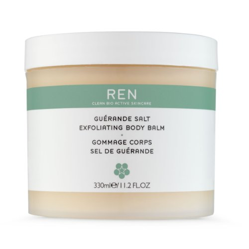 (Ren Guerande Salt Exfoliating Body Balm, 11.2 Fluid Ounce)