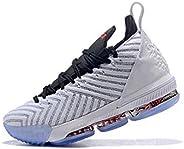 UIUJ Men's Lebron 16 XVI (GS) Basketball Shoes James Fearless Fashion Classic wear-Resistant Comfortable B