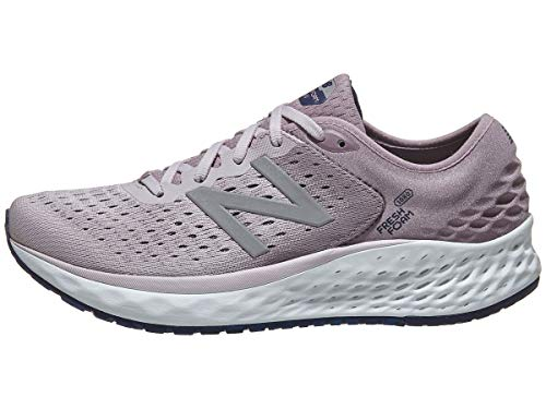 (New Balance Women's 1080v9 Fresh Foam Running Shoe, Light Cashmere/Pigment, 11 W US)
