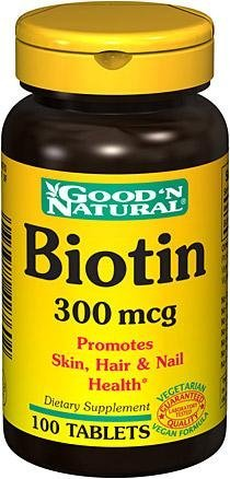 Biotin 300 mcg Good 'N Natural 100 Tabs