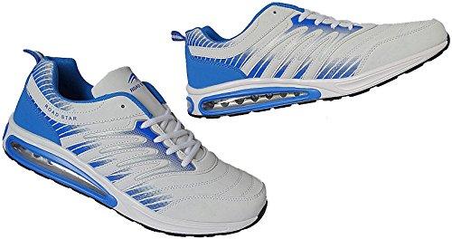De 1406 Pour Chausse Oversize 49nr 47 Chaussures Gr Sport Blanc Hommes Roadstar bleu dwqnH1R