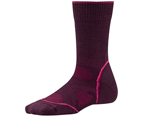 Smartwool Women's PhD Outdoor Light Crew Socks (Aubergine) Large - Past Season