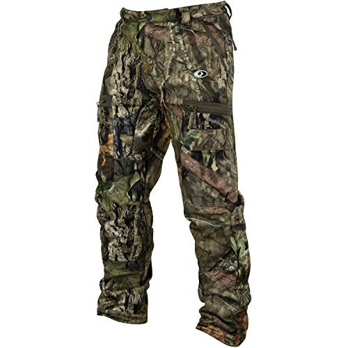 Mossy Oak Men's Camo Sherpa 2.0 Fleece Lined Hunting Pants in Multiple Patterns