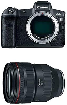 Canon Eos R Mirrorless Digital Camera Body Only And 28 70mm F 2 22 Fixed Zoom Slr Camera Lens Black