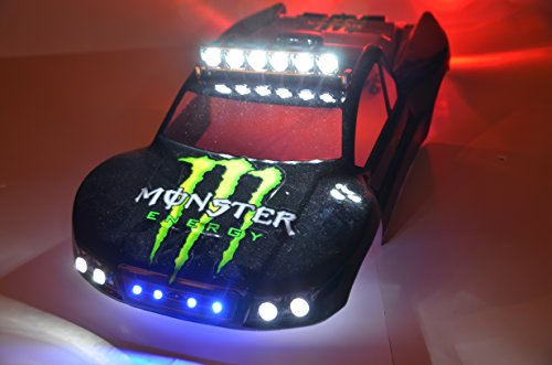 (Traxxas Slash 4x4 2WD Ultimate LED Light Set. - Will fit SC10 or other SC vehicles #80 Body Not Included)
