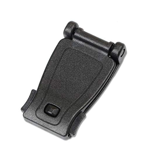 DYZD Multipurpose Molle Clip Molle Strap Attachments Tool Web Dominator Buckle for Tactical Bag, Backpack (Black, 10 PCS)