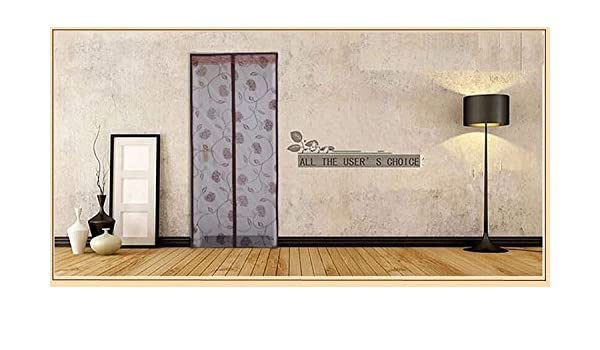 Promoción hilo Spot fabricantes Mosquito Cortina cierre magnético suave protector de puerta mosquito-free verano desgaste shamen marrón de alta calidad: Amazon.es: Hogar