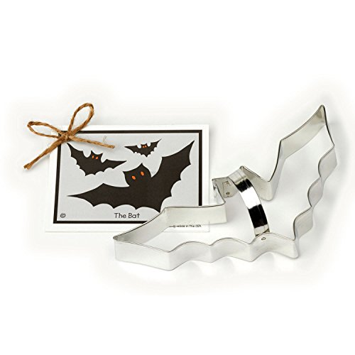 Halloween Bat Cookie and Fondant Cutter - Ann Clark - 8.6 Inches - US Tin Plated Steel for $<!--$7.99-->