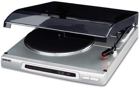 Sony PS J20 S Tocadiscos de Plata: Amazon.es: Electrónica