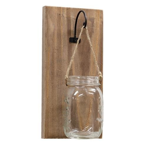 Heart of America Hanging Mason Jar
