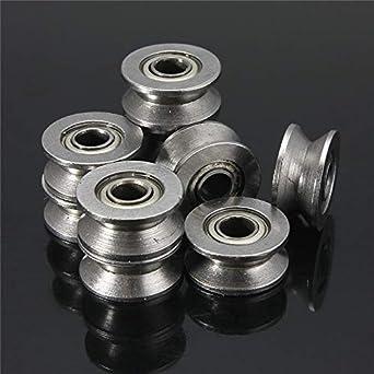 Laliva Impresora 3D – 10 piezas 624VV 4 mm de acero de alto ...