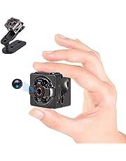 Mini Spy Verborgen Camera's, 1080P HD Kleine Draadloze Home Security Surveillance Camera, Covert Micro Nanny Cam met nachtzicht en bewegingsdetectie, Perfecte Video Body Camera voor binnen en buiten