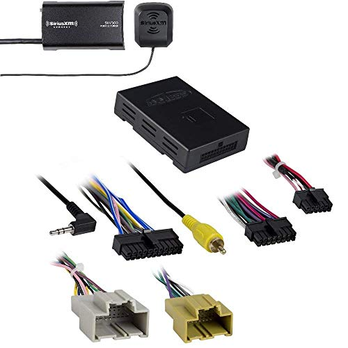 Axxess GMOS-LAN-10 Data Interface for Select GM Vehicles 2016-Up SiriusXM SXV300v1 Connect Vehicle Tuner Kit for Satellite Radio ()