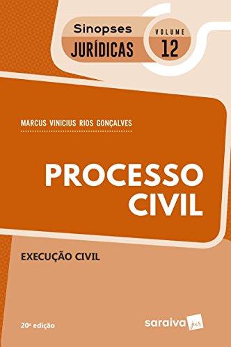 Processo Civil. Execução Civil - Coleção Sinopses Jurídicas 12