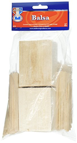 Midwest Products Project Woods Balsa Eco