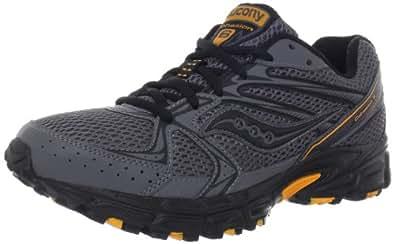 Saucony Men's Cohesion TR6 Running Shoe,Grey/Black/Orange,8 M US