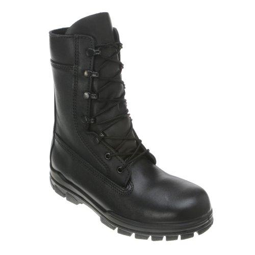 Bates Mens 9 Steel Toe Boots Black