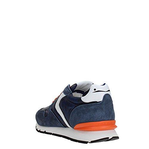 Uomo Blanche Blu Lacci con Sneakers Lacci con Voile Sneakers Voile da Blanche vwF7qx