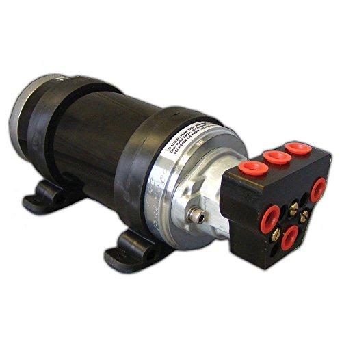 Octopus Autopilot Pump Type 3 Adjustable Reversing Pump w/Shut-Off Valve - 12V up to 30ci Cylinder ()
