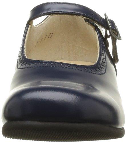 Start Rite Clare, Mädchen Ballerinas Blau (Navy Leather)