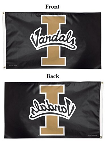 WinCraft NCAA University of Idaho Deluxe Flag, 3' x 5'