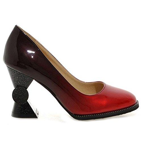 Rond Bout D'été Coolcept Talons Chaussures Enfiler Femmes Black Hauts Escarpins À nPaUIEUx