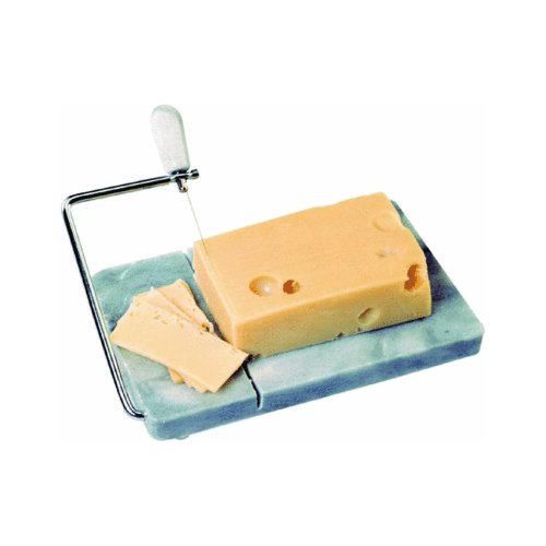 NORPRO 349 Natural Marble Board with Cheese Slicer Comes With Extra Wires