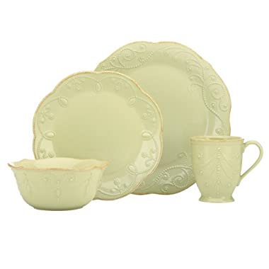 Lenox French Perle 4-Piece Place Setting, Pistachio