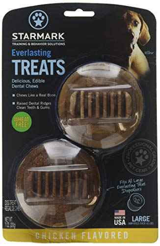 (4 Pack) Everlasting Large Chicken Treats, Made in The - Treat Everlasting