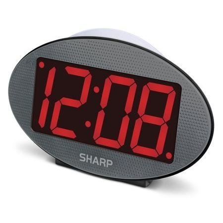 SHARP Jumbo Display Clock Night
