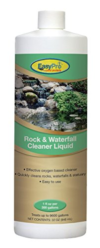 EasyPro Pond Products OXYL32 Rock and Waterfall Liquid Cleaner, 32 fl. (300 Gallon Pond)