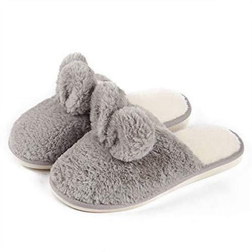 Interni Con Calde In Pantofole Zlulu E Fondo Slippers Cotone Morbido Letto Zlululu Invernali Per Camera Da Donna q678Xw6