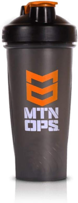 Mtn Ops Crusher Blender Bottle, Smoke