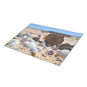 Bestgoon Holiday Doormats Seashells By The Seashore Personalised Door Mats Sand Next Door Mats Nautical