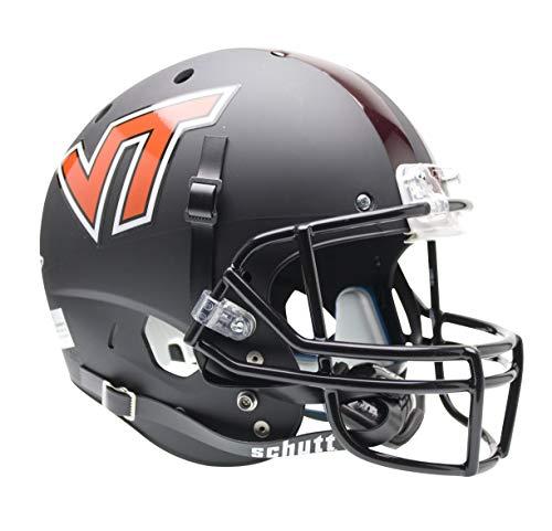 (NCAA Virginia Tech Hokies Replica XP Helmet - Alternate 1 (Matte Black))