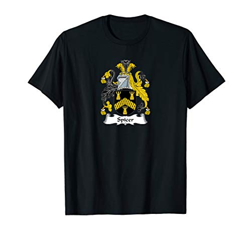 Spicer Coat of Arms - Family Crest Shirt